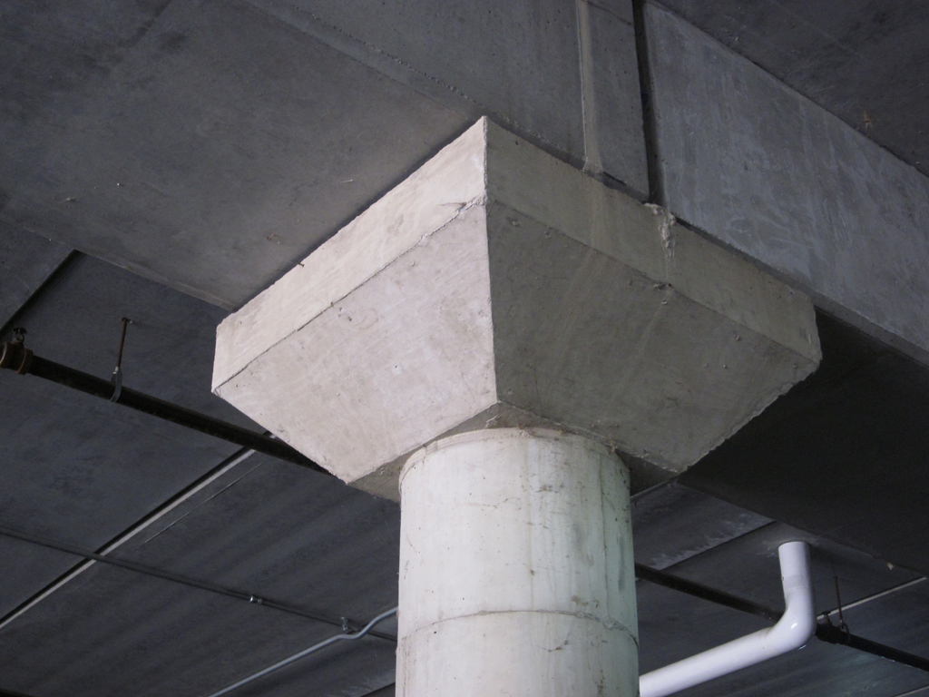 Civil Structural Engineering Flared Concrete Column